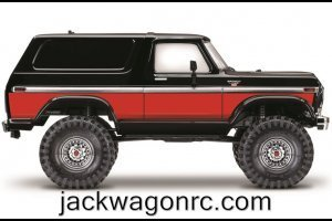 Traxxas-82046-4-Bronco-RED-sideview