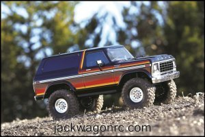 Traxxas-82046-4-Bronco-Sunset-woods-side-right